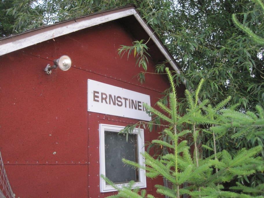 The Ernstinen sauna.