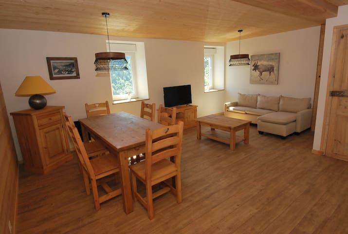 Les flocons appartement chaleureux 3 chambres