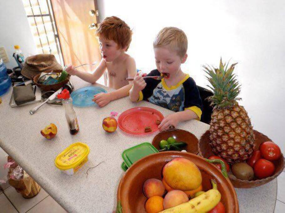 Family friendly kitchen!