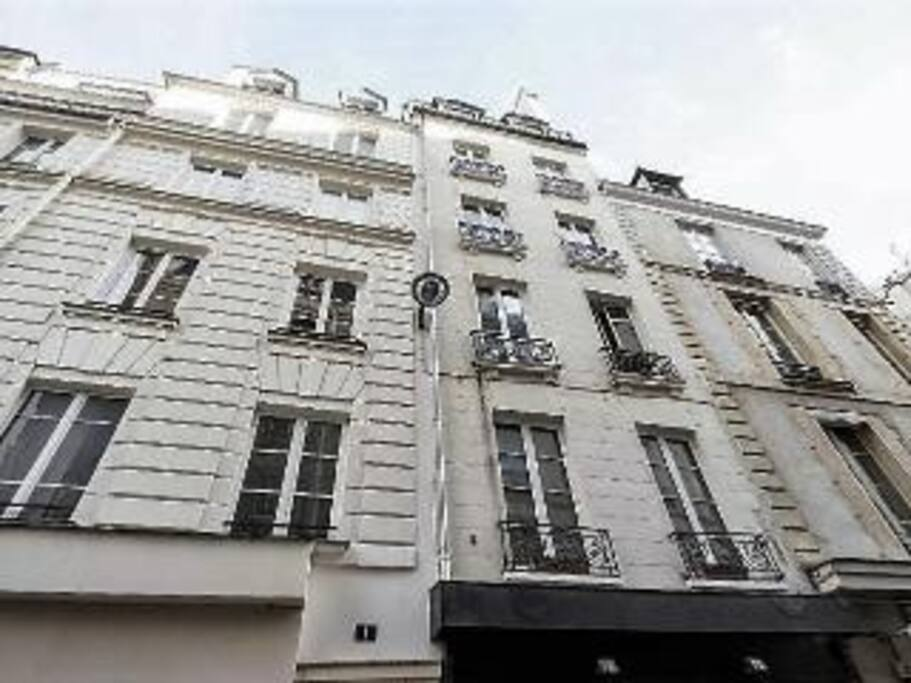 Our building: Charming 18th century French architecture