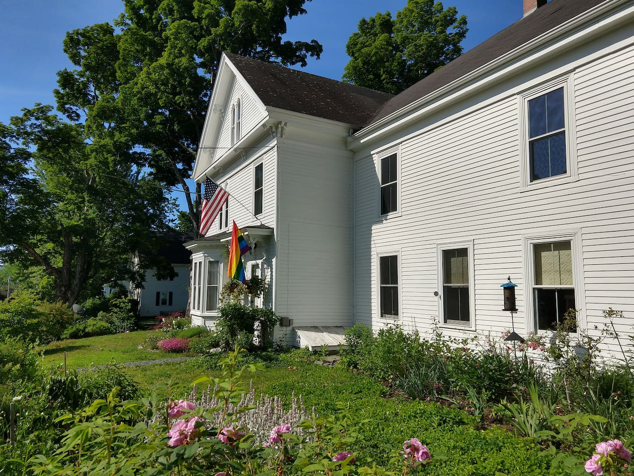 Front of our wonderful 180 yr old Farm House