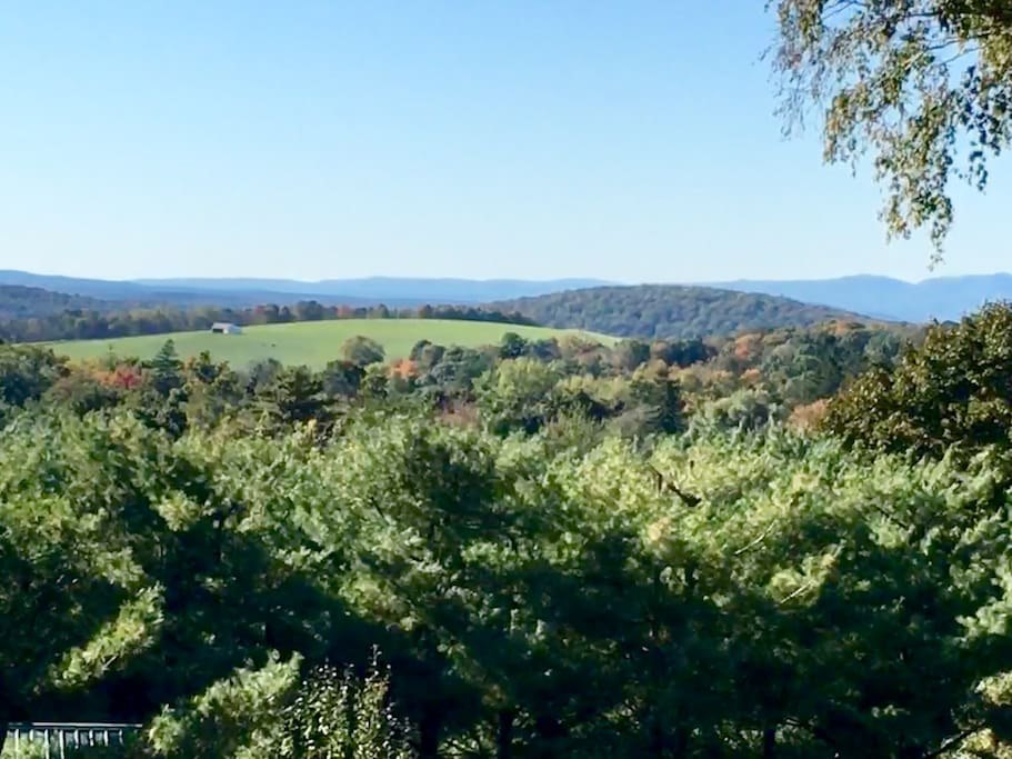 View to the Catskills