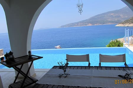 Mediterranean Gem on the water with infinity pool - Kalkan Belediyesi
