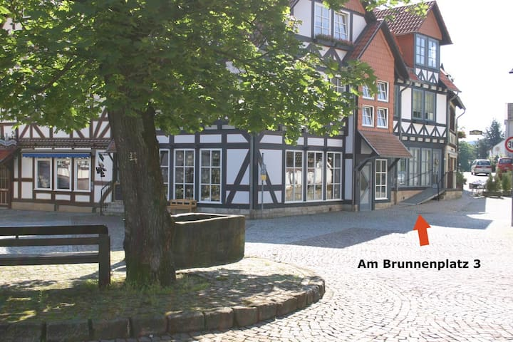 Ferienwohnung direkt am Kurpark - Bad Sooden-Allendorf - Rumah percutian