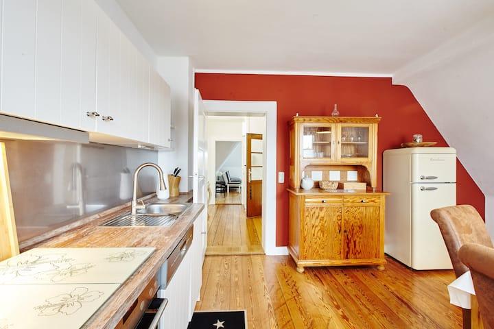 Beautiful 85 m² top-floor apartment Villa Magnolia