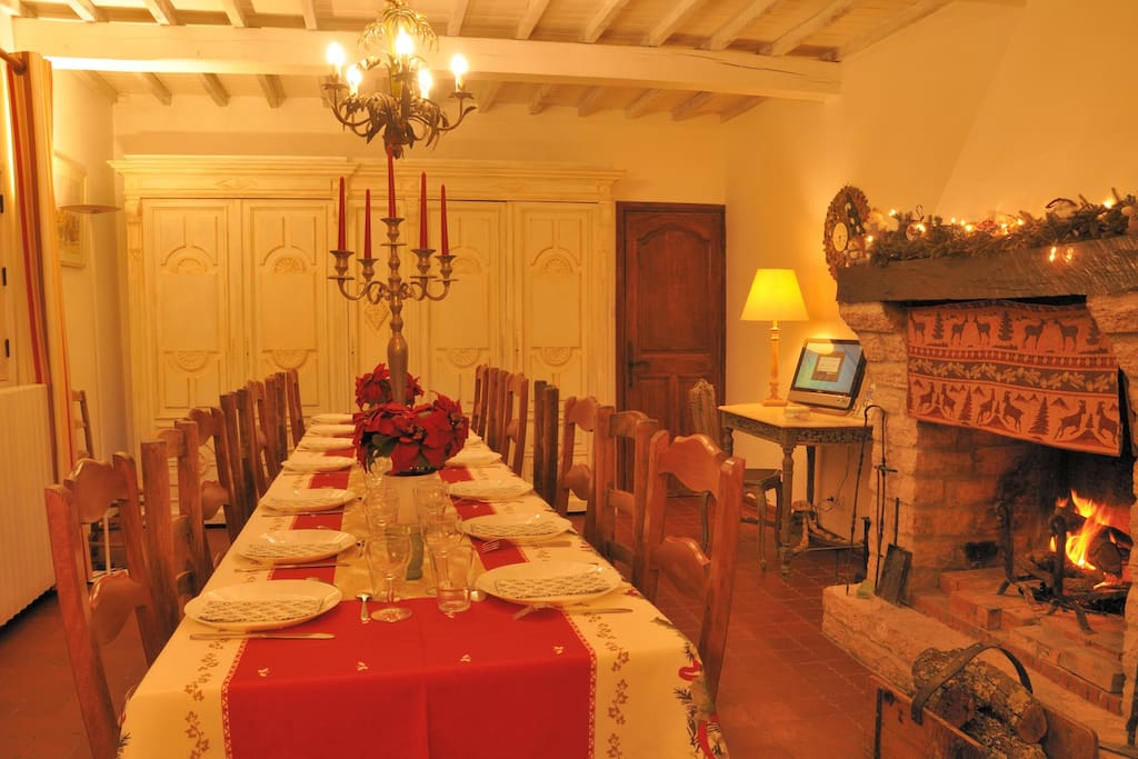 La table de Noël.