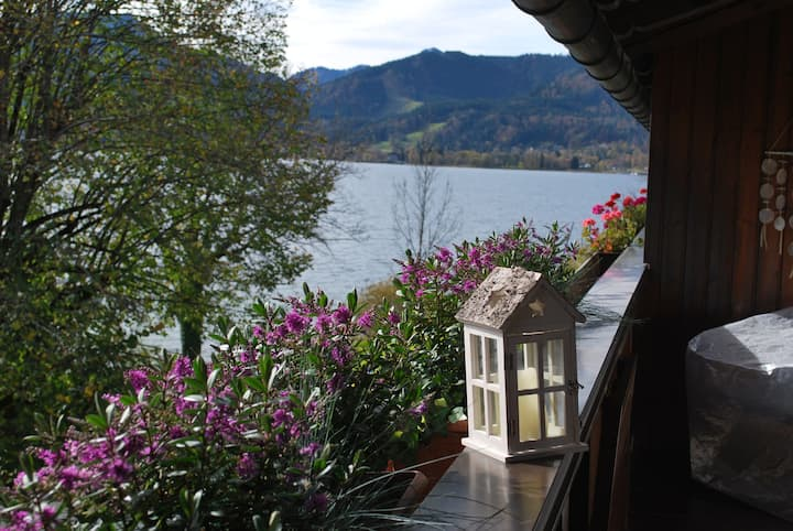 Sonniges Appartement direkt am Tegernsee