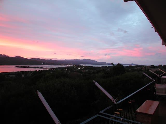 Romantic terrace over Porto Rotondo - Porto Rotondo - Huis