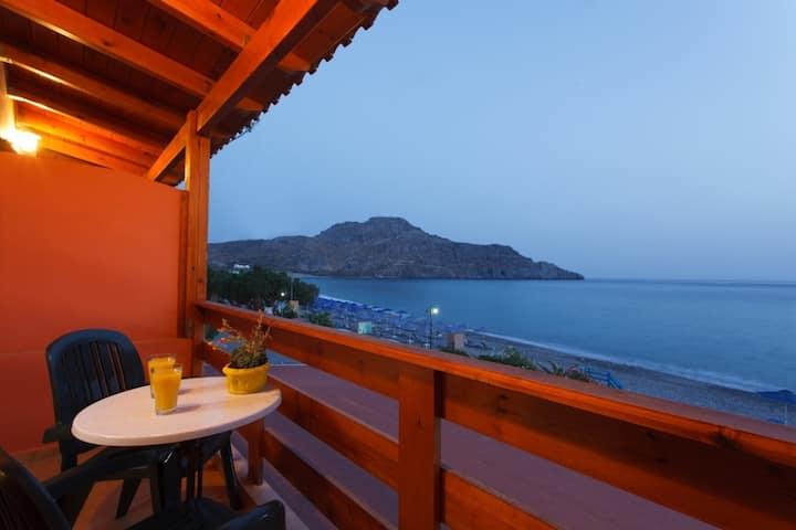 Flisvos. Enjoy your stay next to Plakias beach!