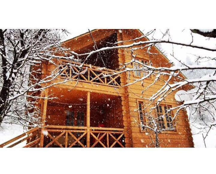 Wooden house Timotesubani, Bakuriani, Georgia