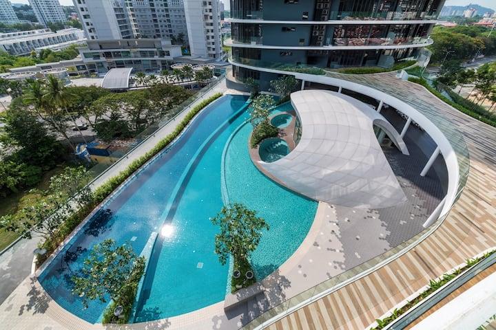 Arte S Luxury Condo 3BRs near USM & SPICE Penang