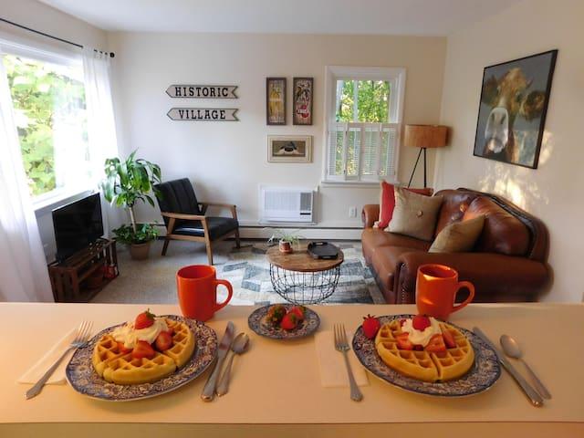 The Village Hideaway & Waffle Breakfast