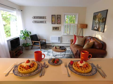 The Village Hideaway & Waffle Breakfast