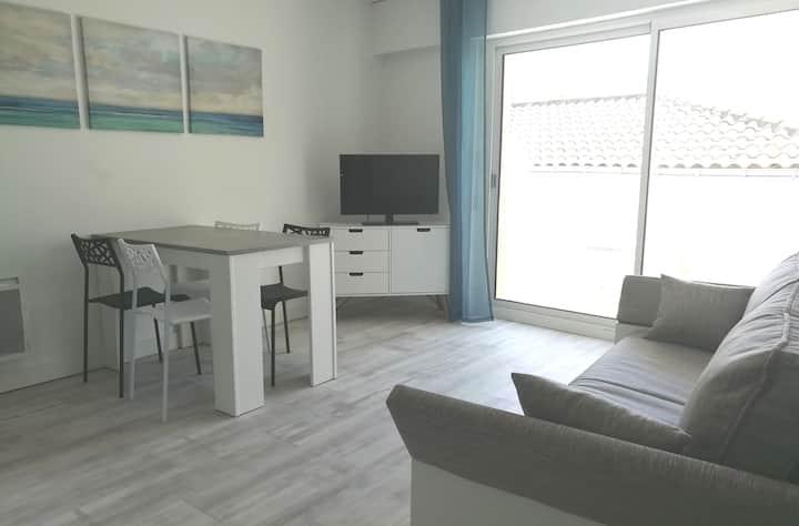 Appartement 4 couchages, 100 mètres de la mer !