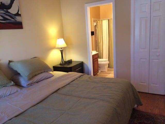 Newly Renovated 1BD/Suite Near DC Metro - Rockville - Casa