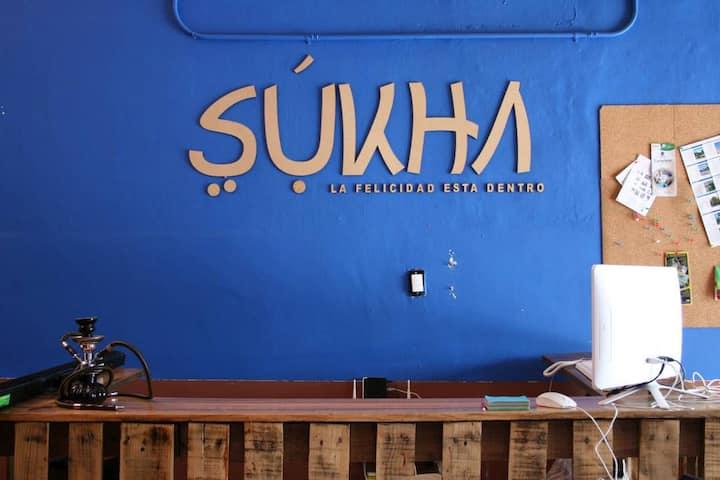 Sukha Hostel - Habitación compartida para 6 personas