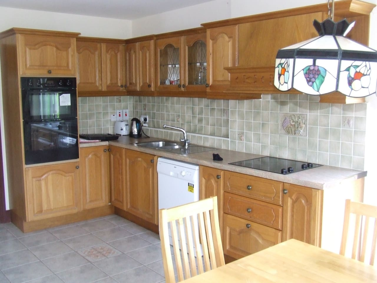 kitchen in holiday home