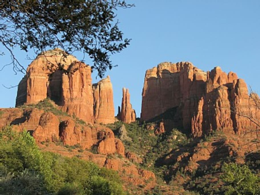 Cathedral Rock Nearby