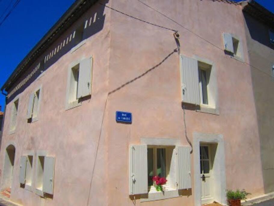 façade maison plein sud