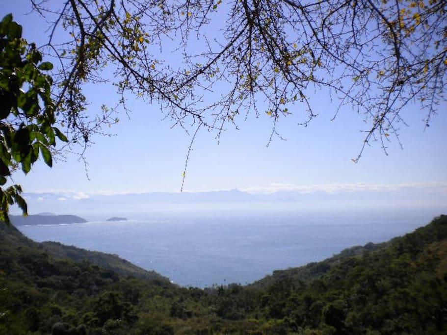 Praia do Pouso vista do alto