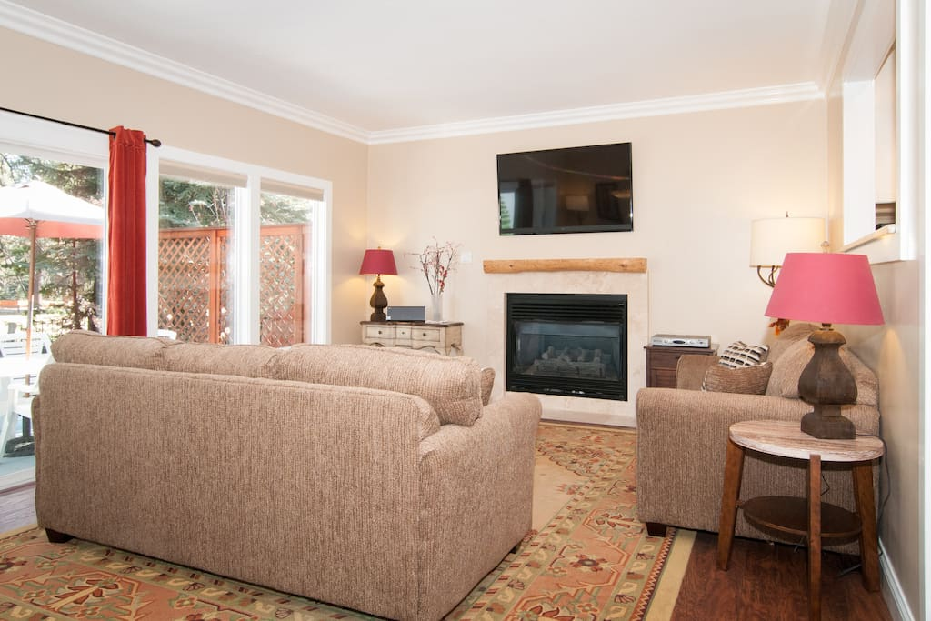 Open floor plan is great for family togetherness