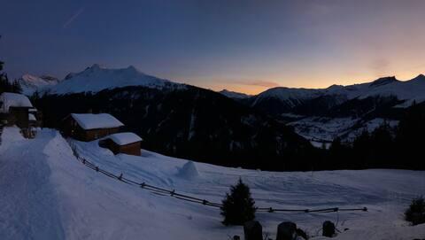Studio auf der Clavadeler Alp - Ski in/Ski out (3)