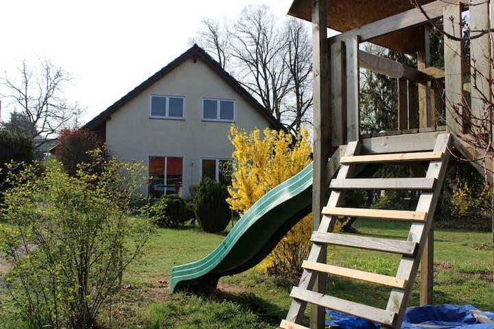 Urlaub im Grünen nahe Dresden