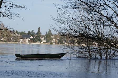 gite 10/12 pers bord de Loire/Angers - Denée - Huis