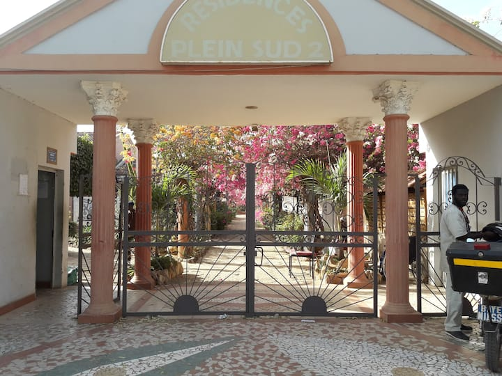 Villa 2 chambres à saly residence plein sud 300€