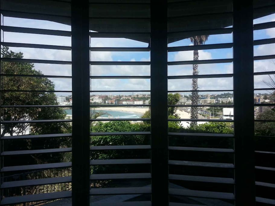 View of Bondi Beach from Private Bedroom