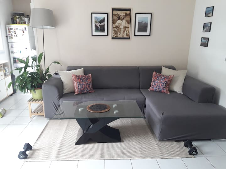 Appt T2bis + terrasse - 4pers - TLSE St exupery