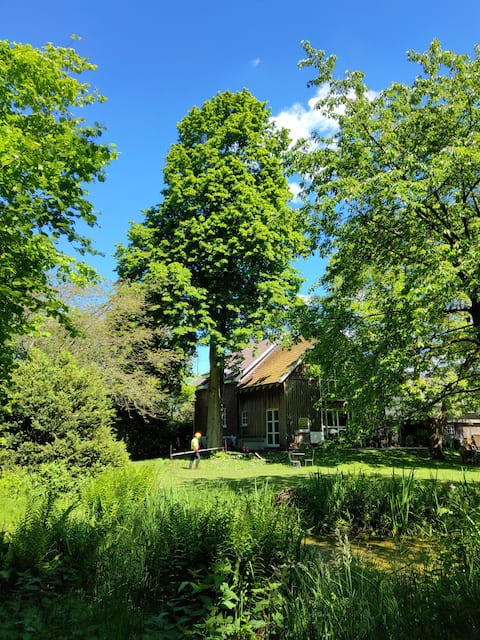 Hamburgo - muito perto ( 1/2h para A ESTAÇÃO PRINCIPAL) 70 m ² +jardim