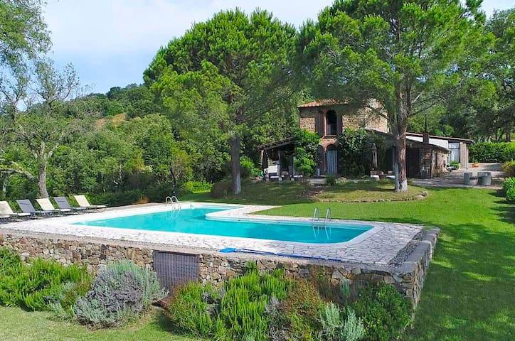 NEW - Rustico,  3 bedrooms,  145 qm,  private Pool