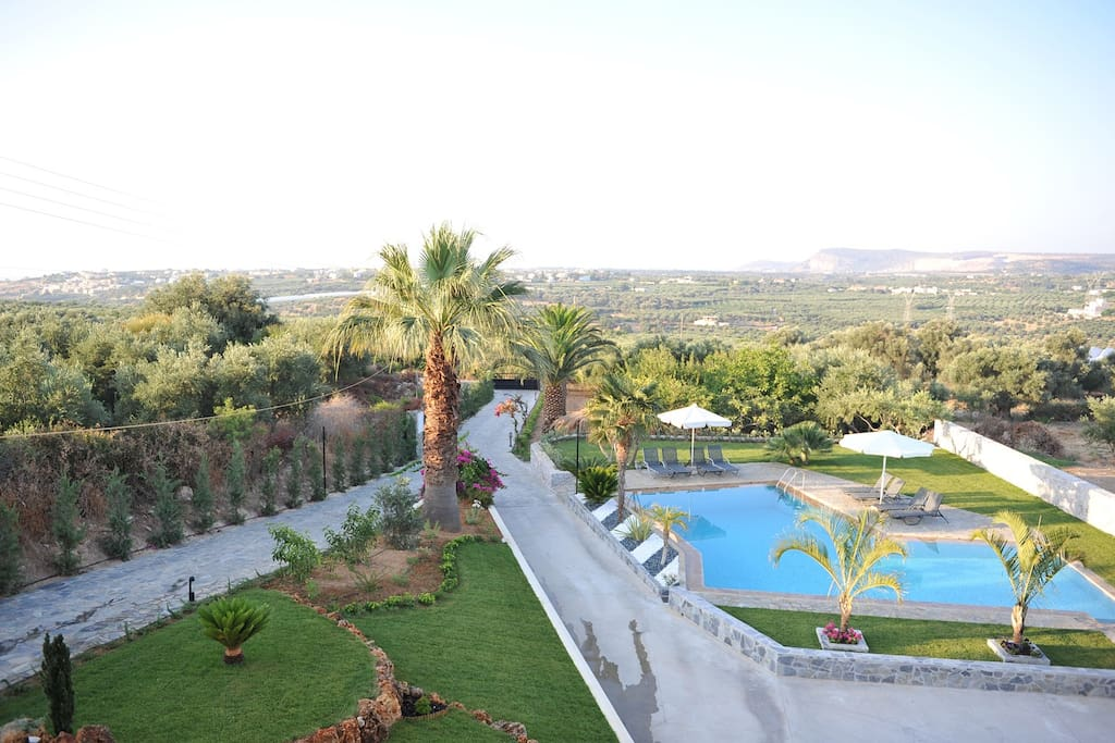 Can you beat this surrounding are of the villa and its views?