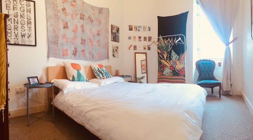 Quirky, cosy double room in Glasgow, Finnieston