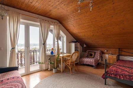 Stadtnah -ruhig gelegen- Balkon -Donaublick 18qm