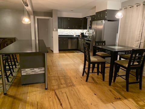 Upscale, remodeled home in very safe neighborhood.