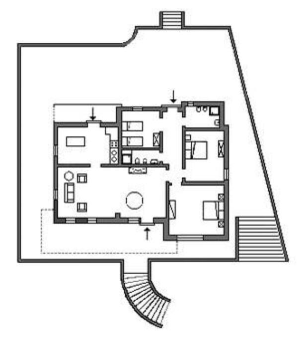 Pianta appartamento 1