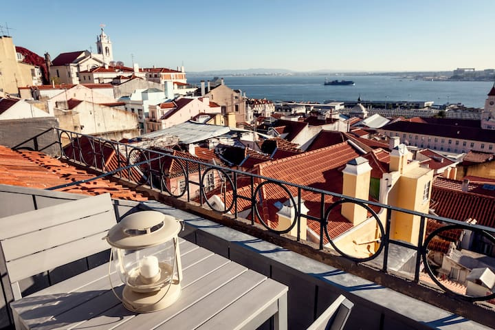 Great Terrace with stunning views!