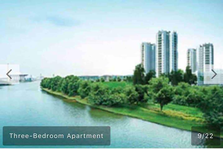Tamara LakeView Putrajaya, P8, 3 bedroom, pool Apt
