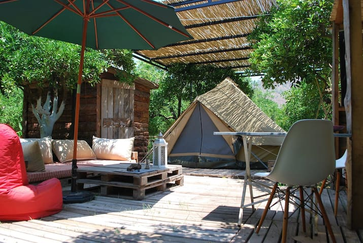 Campo Portakal, Eco Glamping in Bell Tent, Cirali