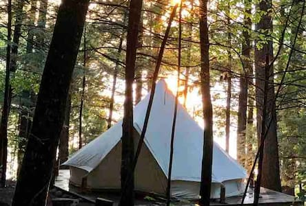 Maine Island Luxury Tent