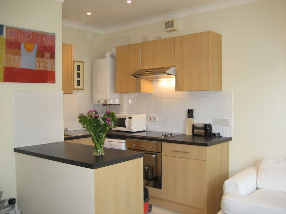 kitchen area of Flat 4 Park House, Flat 2 is the same