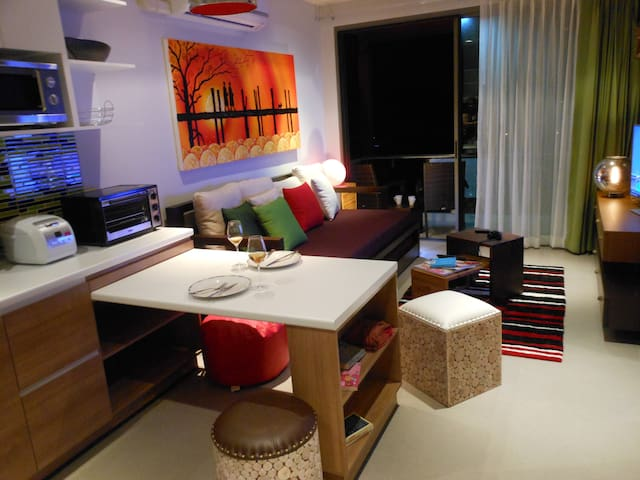 Villa-style Condo,Kitchen,SuperView - Mueang Phuket - Appartement