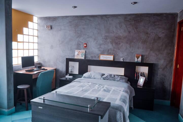 Cómoda y amplia habitación en Chorrillos