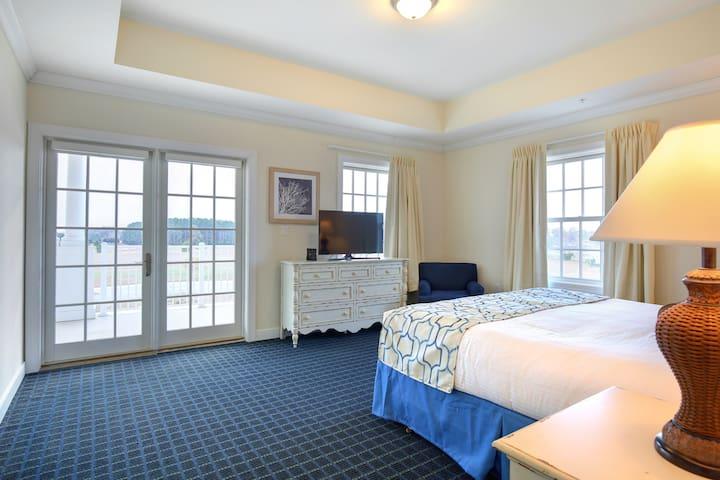 Master Bedroom at Waterside Resort
