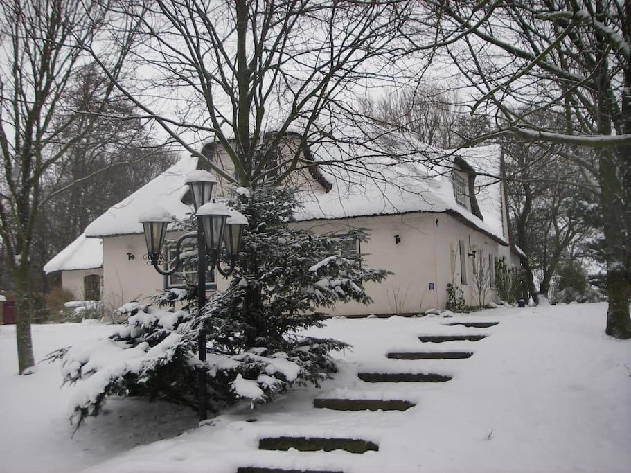 Süd-West-Seite im Winter