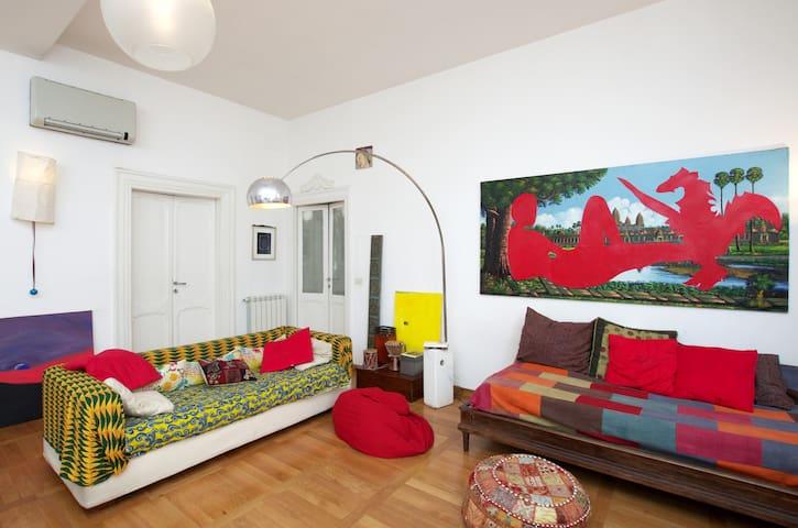Trastevere: charming, large and silent - Rome - Apartmen