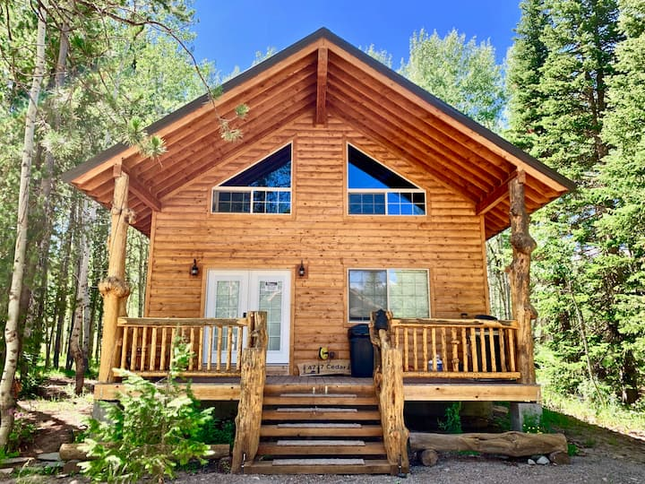 Aspen Heights Cabin+4 Bedms+WIFI+AC+20 mins to YNP
