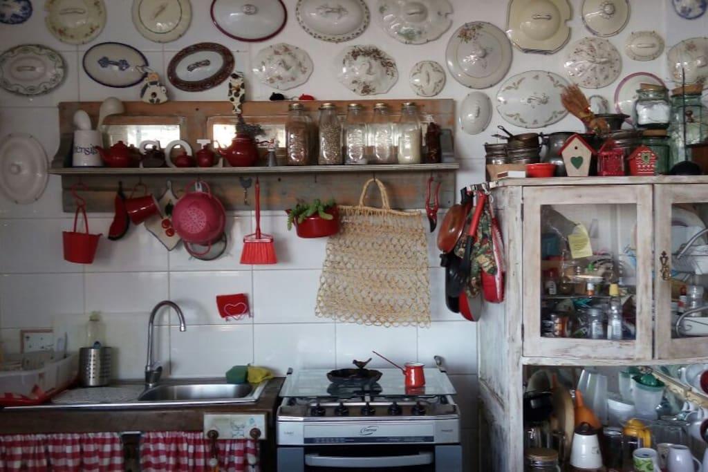 El espacio de la cocina